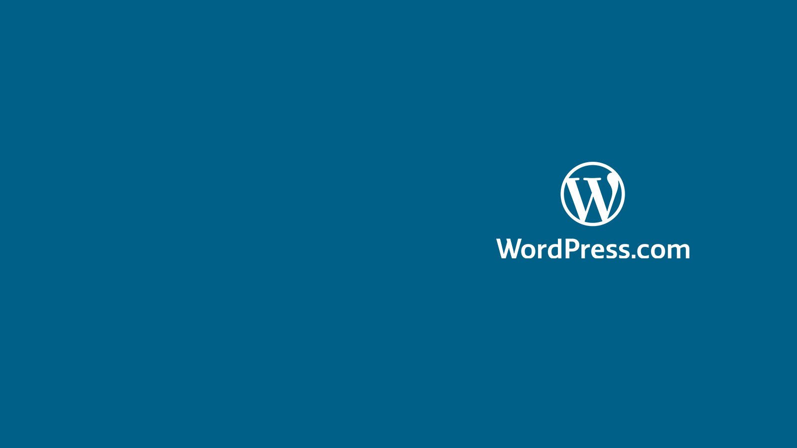 WordPress.com logo.